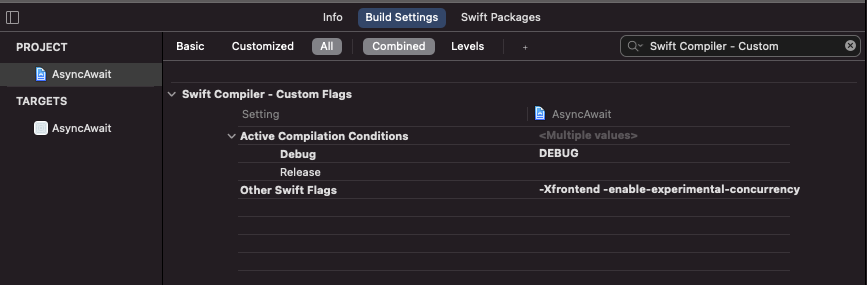 Swift Compiler Flags